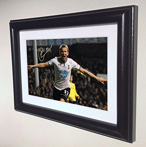 Signed-Harry-Kane-Tottenham-Hotspur-Spurs-Autograph-Photograph-Picture-Photo-Frame-sm