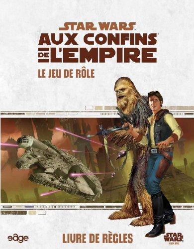 Asmodee - UBISWR02 - Star Wars aux Confins de l'empire - Livre de Règles Base