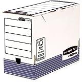 Bankers Box 1131002 Scatola Archivio A4+ System, Dorso 150 mm, FSC, Confezione da 10 Pezzi