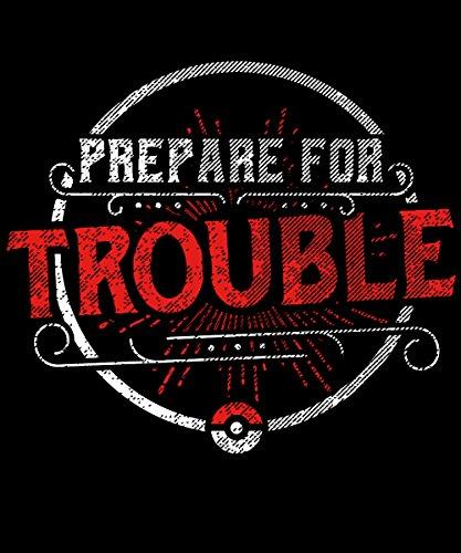 -- Prepare for trouble -- Boys T-Shirt Schwarz