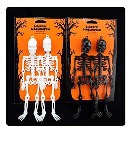 Tragbare Goodies-Taschen-Ideen-Party-Taschen Halloween Party Charm Horror Personal mit hängenden Loch Spielzeug Charme (Farbe : White, Größe : L 15cmW 6cmH 1)