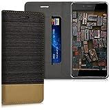 kwmobile Hülle für OnePlus X - Bookstyle Case Handy