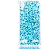 Lenovo A6000 Funda?MUTOUREN TPU silicona Carcasa Case Bumper con Absorción de Impactos Espalda Cover para Lenovo A6000 - azul