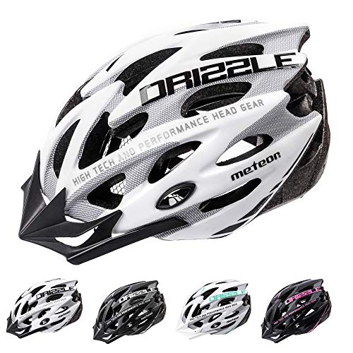 Meteor Casco Bicicleta Helmet Bici Ciclismo