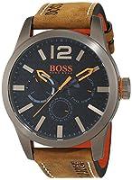 Hugo Boss Orange 1513240 - Reloj de pulsera analógico para hombre (correa de piel, esfera con subdiales) de BOSS Orange