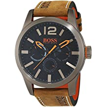 Hugo Boss Orange 1513240 - Reloj de pulsera analógico para hombre (correa de piel, esfera con subdiales)