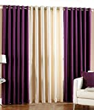 Optimistic Home Furnishing- -Dusr -Door Curtain-(set of 3)