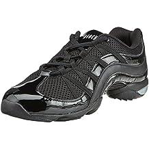 Bloch - Zapatillas de danza para mujer, color negro, talla 38.5