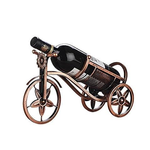 MNII Mode-Einrichtungsgegenstände, eiserner kreativer Weinständer, Dekoration, Flaschenregal im europäischen Stil,