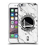 Head Case Designs Offizielle NBA Marmor Weiss 2018/19 Golden State Warriors Soft Gel Hülle für iPhone 6 / iPhone 6s
