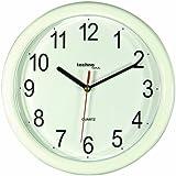 Technoline WT 600 Horloge murale à quartz Blanc