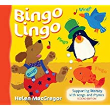 Songbooks - Bingo Lingo: Supporting literacy with songs and rhymes by Helen MacGregor (2005-01-24)
