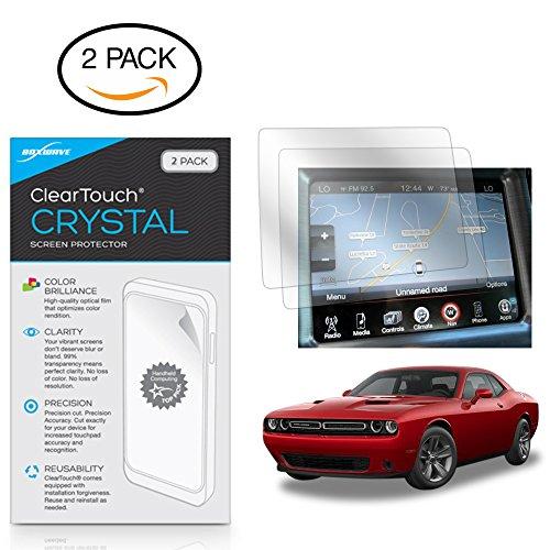 Dodge 2017 Challenger 12,7 cm (5 Zoll) Displayschutzfolie, BoxWave® [ClearTouch Crystal (2er-Pack)] HD-Folie - schützt vor Kratzern für Dodge 2017 Challenger (5 Zoll) -