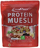 IronMaxx Protein Müsli Schokolade/Veganes Fitness Müsli laktosefrei und glutenfrei/Eiweiß Müsli mit Schokoladengeschmack/1 x 550 g