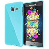 Samsung Galaxy A3 2016 Coque Silicone de NICA, Ultra-Fine Housse Protection Cover Slim Premium Etui, Mince Telephone Portable Gel Case Bumper Souple pour Samsung A3 2016 Smart-Phone - Turquoise