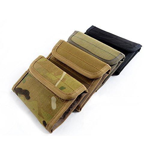 YAKEDA Im Freien vorgerückte taktische Mappe, Karten-Fall-Geldbeutel, Kreditkarte-Schutz, Burse, Notecase-C88033 Tarnung