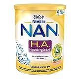 NAN H.A. Hipoalergénica - Leche para lactantes en polvo - Fórmula para bebé - Desde el primer día - 800g