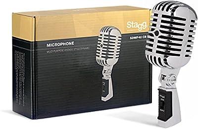 Stagg Sdmp 40CR Dynamic Vintage Microphone