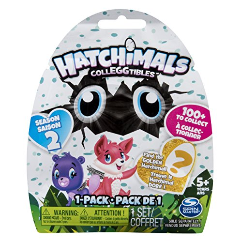 Spin Master 6041314 – Hatchimals Colleggtibles – 1er Pack Folienbeutel Season 2