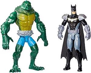 DC Batman Missions Pack de figura de acción Batman contra Killer Croc (Mattel GCK70)