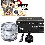 Magnetische Gesichtsmaske Mineralreiche Gesichtsmaske Porentiefe Reinigung Entfernt Hautunreinheiten mit Reinigungsschlamm, Magnetic Revitalizing Age Defender, 50ml