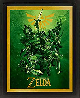 The Legend Of Zelda Link Poster 3D