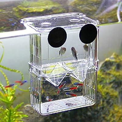 Kicode Juvenile Hatchery Box Fischzucht Inkubator Isolierung Hängend Panzer Züchter