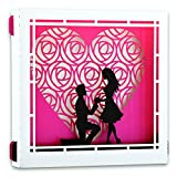 #10: Yolopop Proposal Gifts for Girlfriend | Handmade Pop Up Box 3D Greeting Card | I Truly Madly Deeply Love You