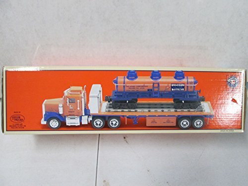 taylor-made-trucks-lionel-flatbed-toy-truck-with-operating-lights-sounds-and-3-dome-tank-car-by-lion