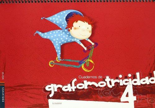 Cuaderno 4 de Grafomotricidad