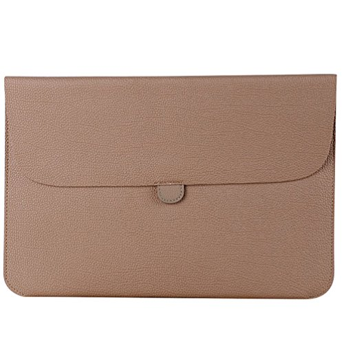 YiJee Laptop Sleeve Custodia Protettiva Borsa per Portatili Caso Portatile 15.4 Pollice Cachi