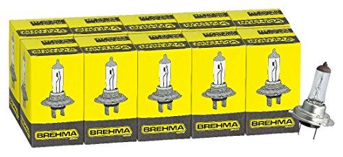 10x-Brehma-H7-Halogen-Lampe-Autolampe-12V-55W-PX26d-Scheinwerfer-Lampe-Ersatzlampen-Abblendlicht-Fernlicht-Nebellicht