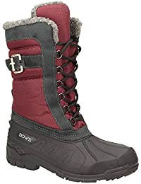 ac1621b33b64 BOWS® -SUSI- Winterstiefel Damen Schnee Stiefel Snow Schuhe Winterboots  warm gefüttert wasserdicht wasserabweisend