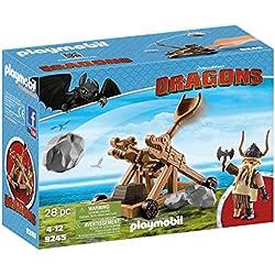 Cómo entrenar a tu Dragón Playmobil - Bocón con catapulta (9245)