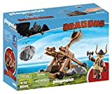 Playmobil 9245 DreamWorks Dragons Gobber with Catapult