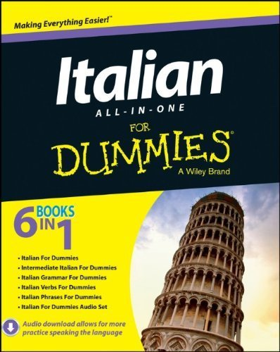 Italian All-in-One For Dummies by Di Pietro, Antonietta, Onofri, Francesca Romana, Picarazzi, (2013) Paperback