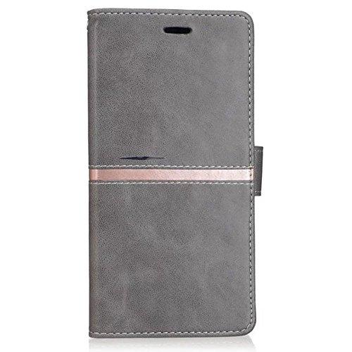 Für Xiaomi Max Case Cover Premium TPU / PU Ledertasche Magnetische ...
