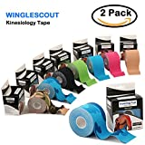 Kinesiology tape-perfect soporte muscular cinta para ejercicio, atlético deportes y lesiones recovery-5cm X Rollo de 5m elástico de alta calidad cinta disponibles para todos los deportes
