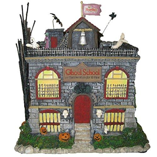 iversal Studios Munsters Collection Eddie's Schoolhouse Sammlerstück Halloween Haus Display ()