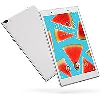 "Lenovo TAB4 8 - Tablet de 8"" (Procesador Qualcomm MSM8917,  2 GB de RAM, memoria interna de 16GB, Camara frontal de 5MP, sistema operativo Android 7.0, WiFi + Bluetooth 4.0) color blanco polar"
