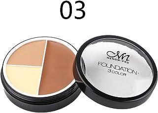 Hunputa Cosmetics Cream Contour And Highlighting Makeup Kit Contouring Foundation Concealer Palette C