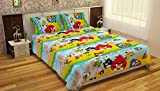 Krishnam Home Angry Birds Printed Cotton...
