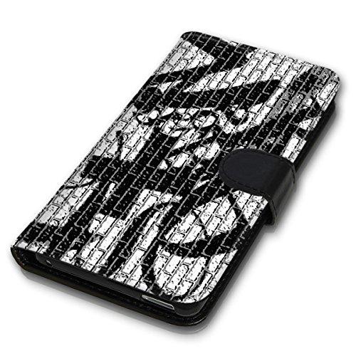 Wallet Book Style Flip Handy Tasche Case Schutz Hülle Schale Motiv Etui für Apple iPhone 6 / 6S - Variante UMV15 Design12 Design 4