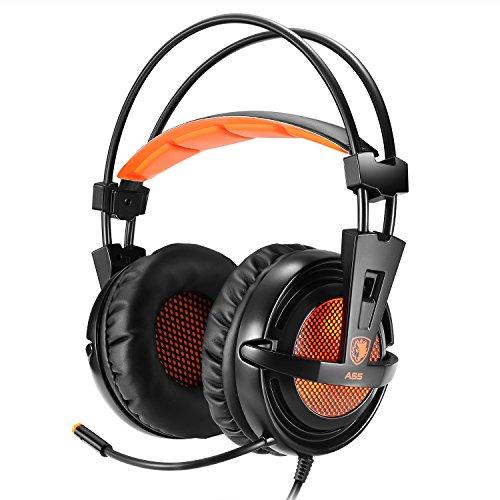 Sades Over-ear Surround Sound Stereo EasySMX Cuffie da Gioco Stereo
