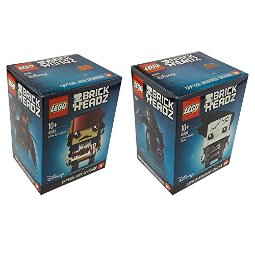 Lego BrickHeadz Set: 41593 Captain Jack Sparrow +