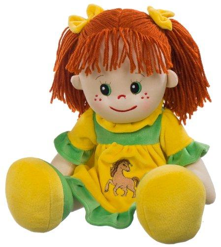 Heunec 470774 - bambola lotte con capelli rossi, misura xl
