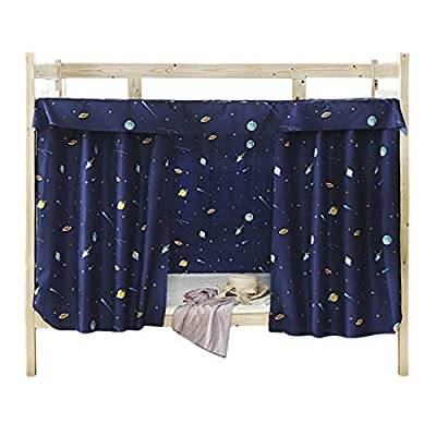 Bed Curtain Single Sleeper Bunk Bed Bunk Tent Curtain Bedding Black Out Sleep Canopy Sleep Privacy Bed Rack College Student Dormitory Spread Blackout Curtains Mosquito Nets - cheap UK light shop.