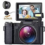 Best Camera For Vloggings - Digital Camera Camcorder Full HD Video Camera DIWUER Review