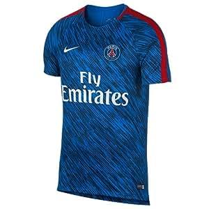 Nike 928076-440 Maillot de Football Homme, Hyper Cobalt/Rouge Rush/Blanc, FR : 2XL (Taille Fabricant : XXL)