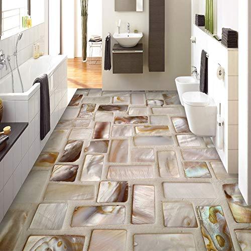 Pvc-decken-fliesen (Wallpaper 3D Werbung Benutzerdefinierte Fototapete 3D Fliesen Mosaikboden Kunstwand Pvc Wasserdicht Selbstklebende Badezimmer Restaurant Küche Boden Aufkleber 3D-450X300Cm)